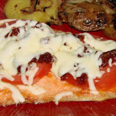 Salmon With Mozzarella