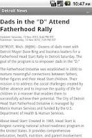 Screenshot of Detroit News