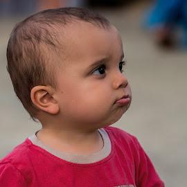 what's happening by Vibeke Friis - Babies & Children Children Candids ( toddler, boy )