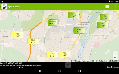 app spritmelder g nstig tanken apk for windows phone. Black Bedroom Furniture Sets. Home Design Ideas
