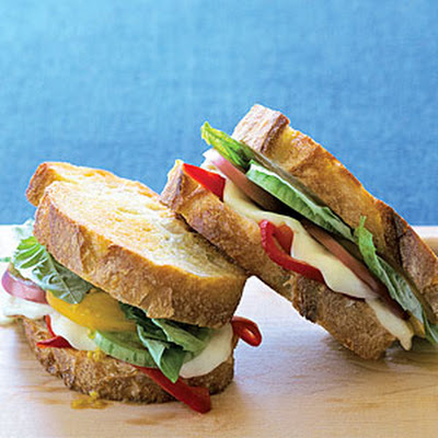 Grilled Caprese Sandwiches