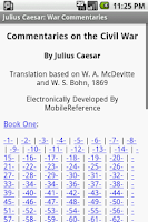 Screenshot of Julius Caesar:War Commentaries