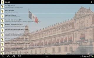 Screenshot of Guía MX