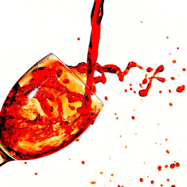 Red wine swirl by Anthony Doyle - Food & Drink Alcohol & Drinks