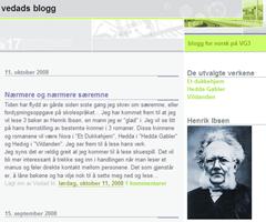 vedads blogg