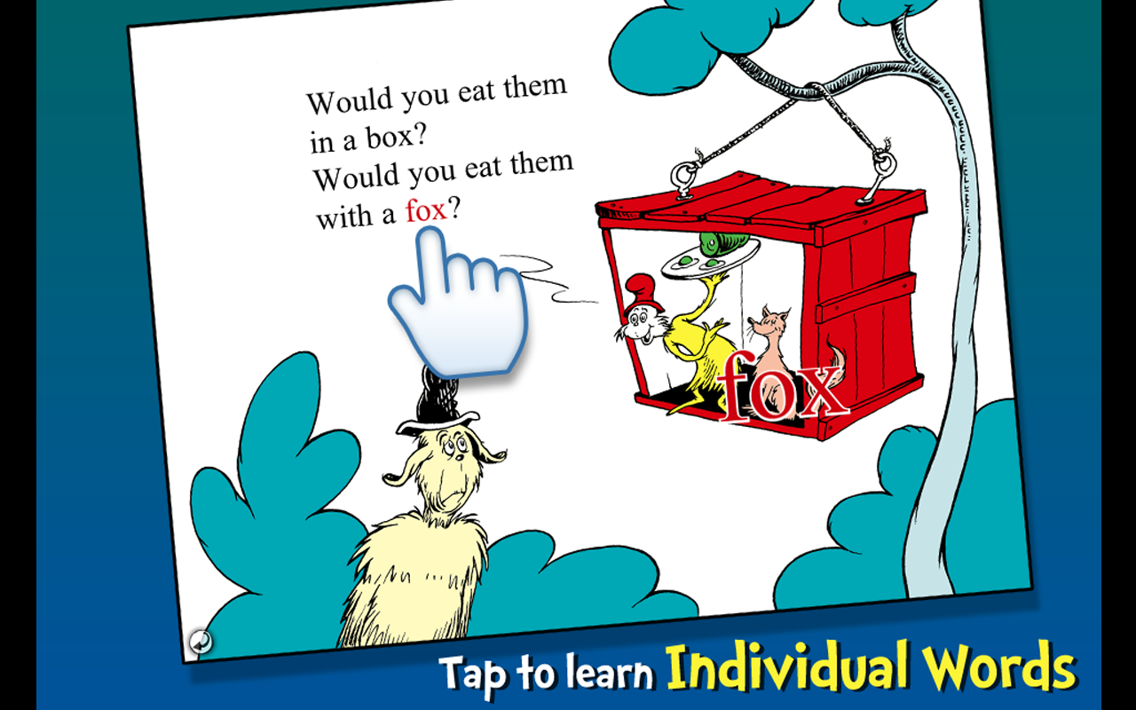 Green Eggs and Ham - Dr. Seuss Screenshot 10