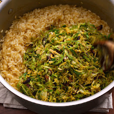 Brussels Sprouts and Lemon Risotto Recipe