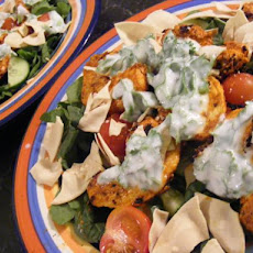 Warm Tandoori Chicken Salad (21 Day Wonder Diet: Day 4)