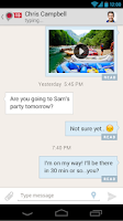 Screenshot of PingMe Messenger