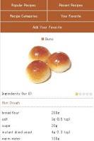 Screenshot of Bread Recipes