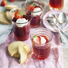 Strawberry & Pimm's jelly