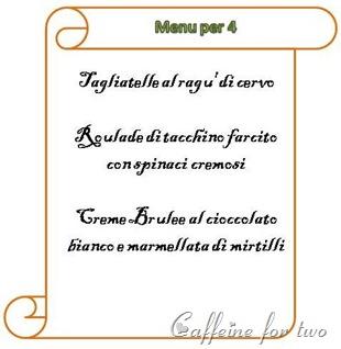 menu a 15 euro