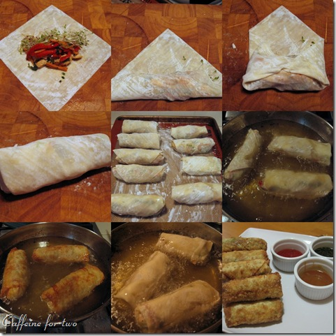 collage eggrolls