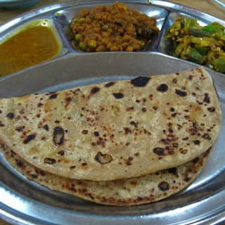 Oats Spring Onion Chapati