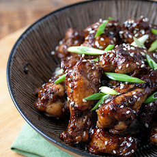 Cola Glazed Chicken Wings