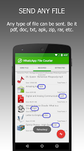 WFS: WA File Sender Pro Screenshot