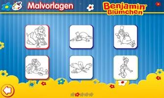 Screenshot of Malen mit Benjamin FREE