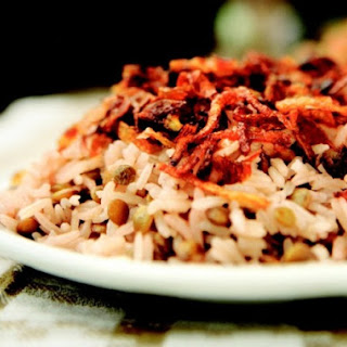 Mejadra, Rice with Lentils
