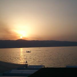 Beautiful sunset by Ionut Catauta - Nature Up Close Water ( sunset, calabria )