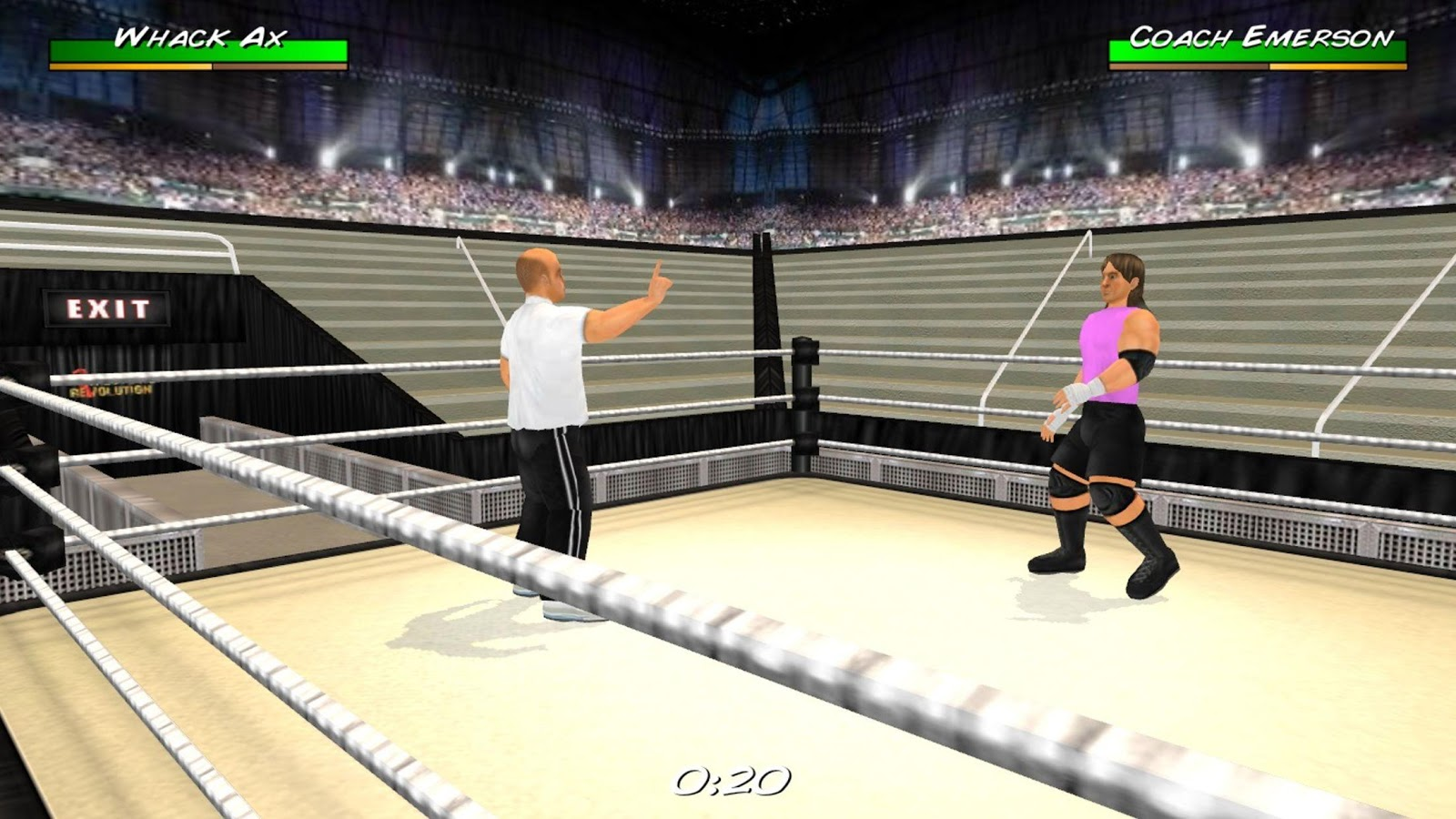 Wrestling Revolution 3D Screenshot 12