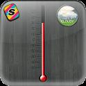 [Shake] 아날로그 온도계와 날씨배경