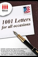 Screenshot of 1001 Letters for all occasions