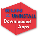 Downloaded Apps Run&Uninstall icon