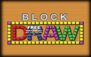 Screenshot of Block Draw Demo