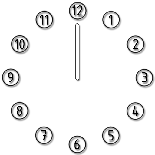 Analog Clock α LOGO-APP點子