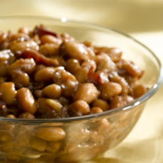 Honey Apple Butter Baked Beans