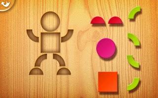 Screenshot of Kids Tangrams Lite