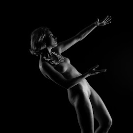 The Sun Shine by Birmingham Fotography - Nudes & Boudoir Artistic Nude ( nude, female, black and white, artistic )