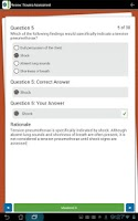 Screenshot of Paramedic Assessment Review
