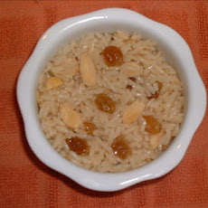 Rice With Almonds & Raisins