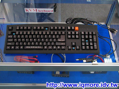 Computex 2008: 9S好科技有限公司 (KVM鍵盤)