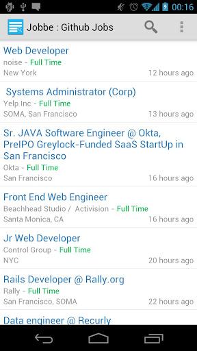 Jobbe : Github Jobs Finder