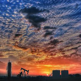 Sunrise over Texas by Jeff Schartz - Landscapes Sunsets & Sunrises