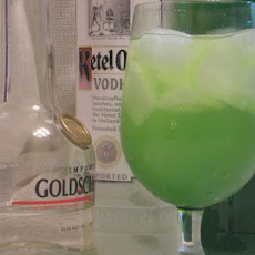 Emerald Jewel Funtini Cocktail