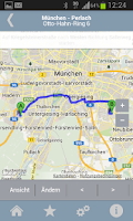 Screenshot of Siemens LocationScout