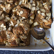 Raisin-Studded Apple Bread Pudding