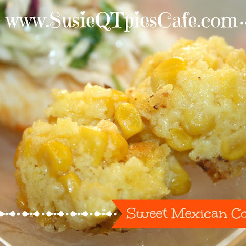 Sweet Mexican Corn Cake