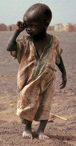 Foto Criança com fome