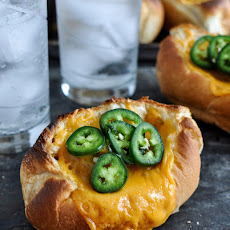 Jalapeño Cheddar Chicken Meatball Sandwiches