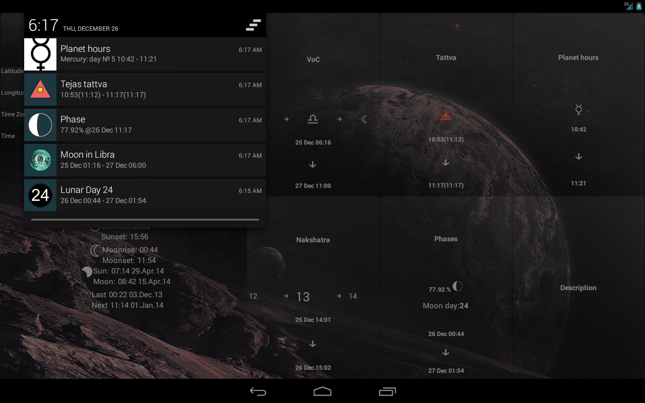 Lunar Calendar Screenshot 10