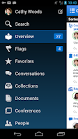 Screenshot of Oracle Social Network