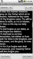 Screenshot of King James Version 1611 Viewer