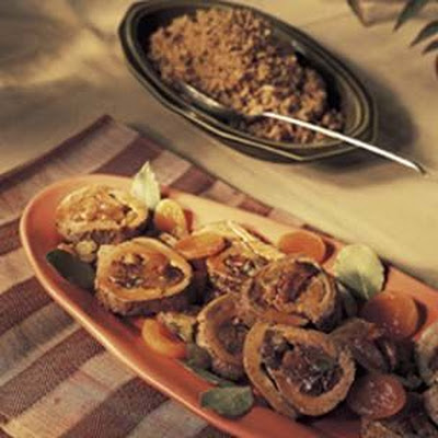 Pork Tenderloin with Cider Glaze and Dried Fruits