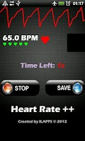 Screenshot of Heart Rate ++ Free