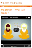 Screenshot of Yoga & Meditation