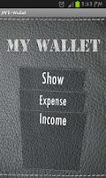 Screenshot of MY E-Wallet